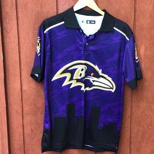 NFL Baltimore Ravens polo shirt